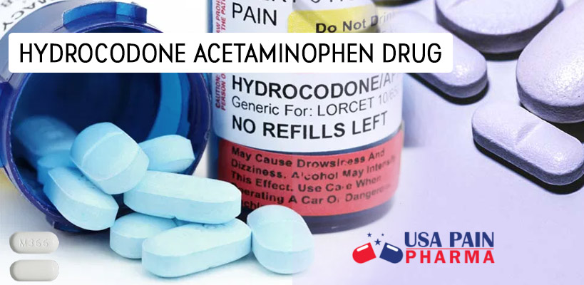HYDROCODONE ACETAMINOPHEN DRUG